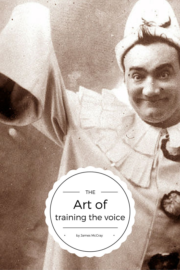 The art of training and developing the voice, by great tenor James McCray bit.ly/1O7GYBW