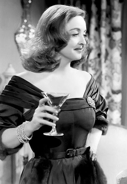 Bette Davis ...it's gonna be a bumpy night !!!