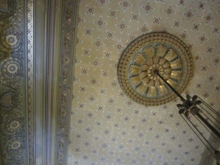 Lyon & Cottier painted ceiling Adelaide