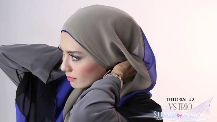 Shawlbyvsnow : Hijab Tutorial with VS Trio ( 2 style )