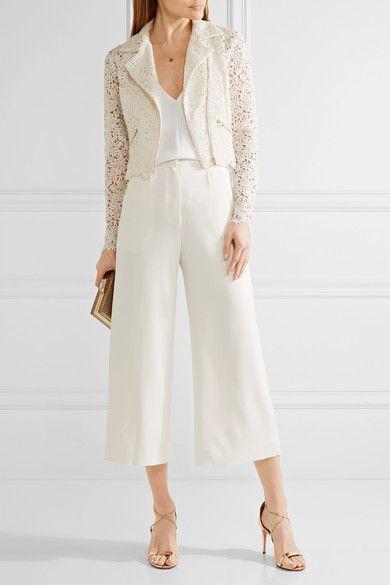 Rime Arodaky - Drew Cotton-blend Guipure Lace Jacket - Ivory - FR