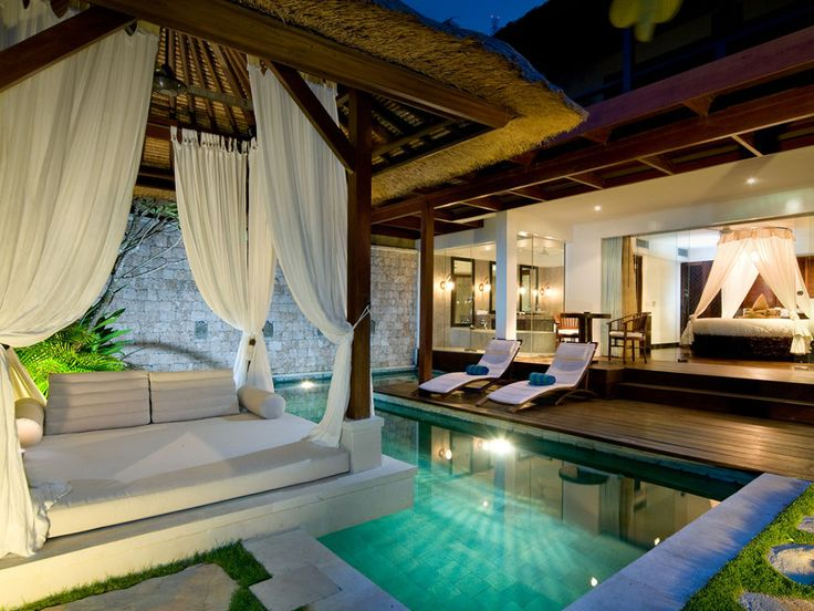honeymoon suite in bali...WOW!