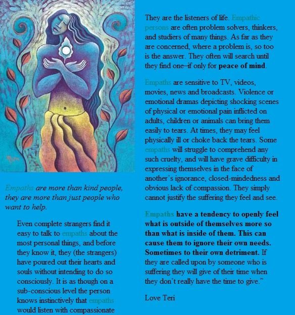 If someone you know is an Empath Then read this !!!