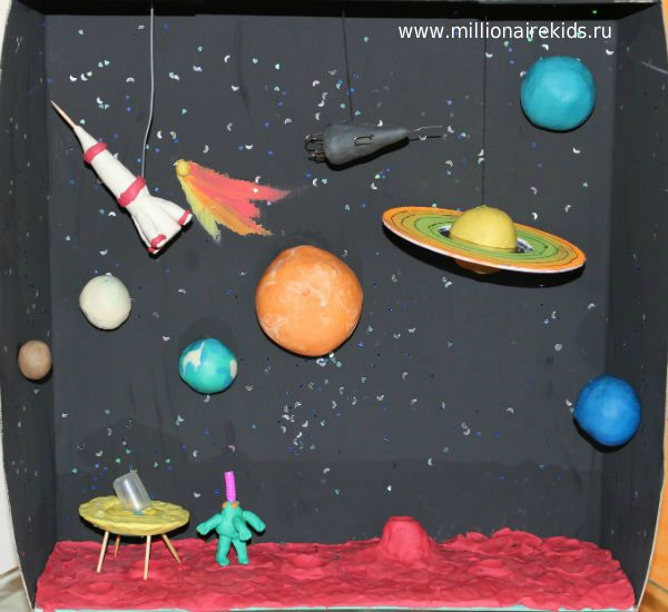 макет солнечной системы из пластилина - Поиск в Google