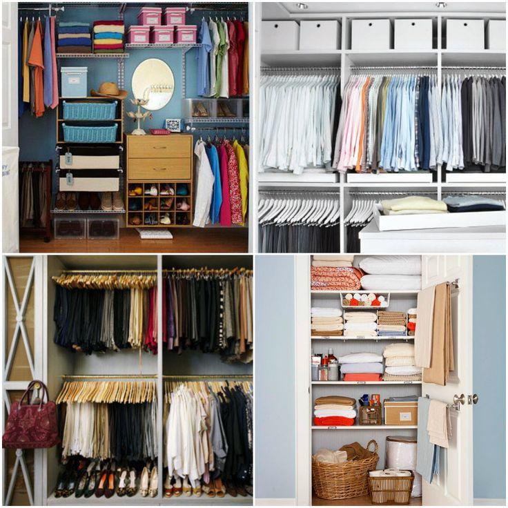 101 Best Diy Closet Organization Images On Pinterest