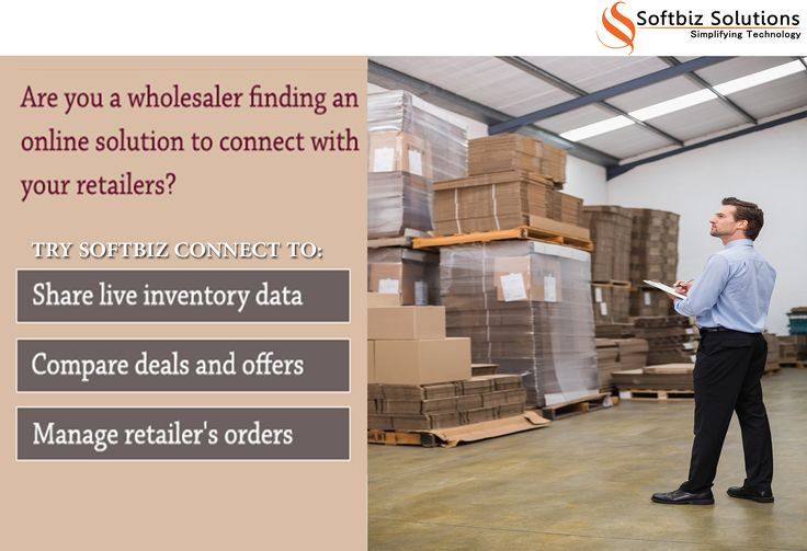 Wholesaler connect with your retailers online