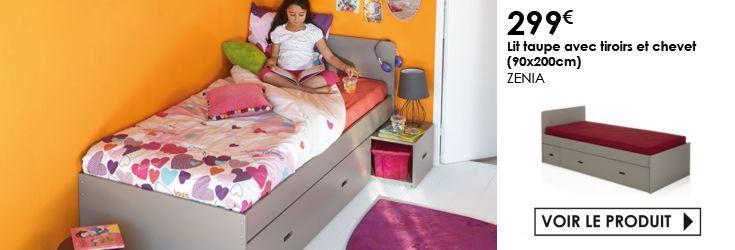 1000 ideas about lit enfant avec tiroir on pinterest lit tiroir ikea meuble de rangement - Lit et chevet integre ...