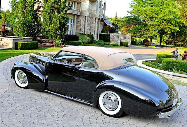 1940 LaSalle Convertible - (LaSalle brand by General Motors Cadillac division, Detroit, Michigan (1927-1940)