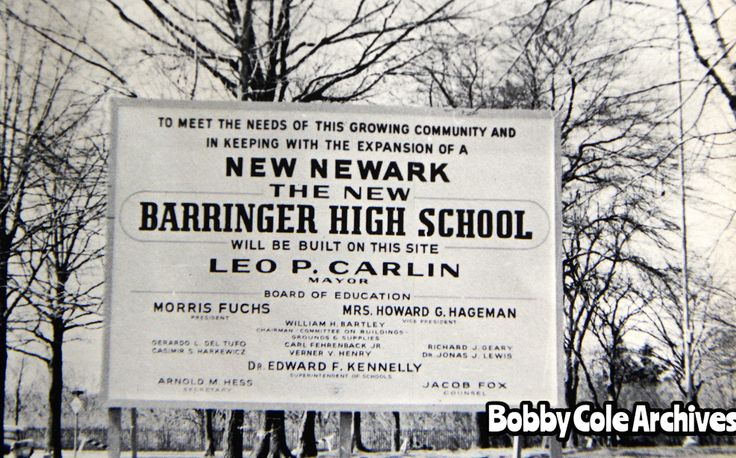 Language In 45 And 47 Stella Street: Site Of The New Barringer High School 1962