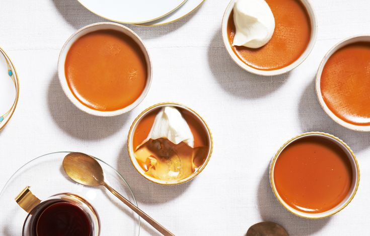 Burnt-Caramel Custards