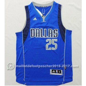 maillot nba pas cher Tyson Chandler Parsons #25 bleu Dallas Mavericks