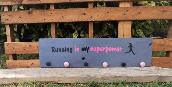 Running Signs/ Runner Gifts/ Runner Girl/ Jewelry Holder/