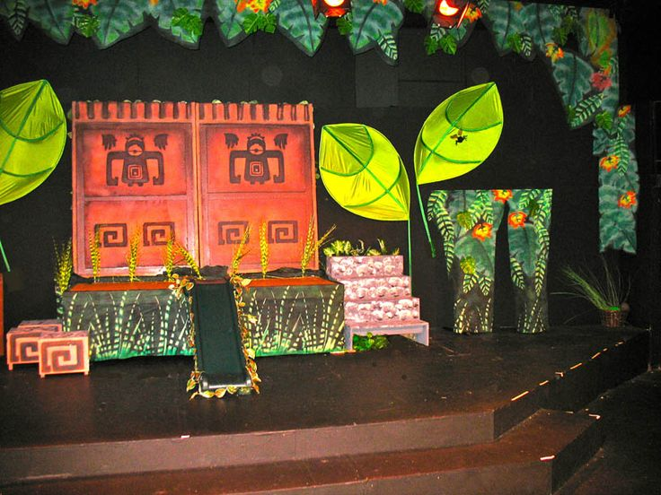 Jungle Book Back Drops For School Plays Google Search