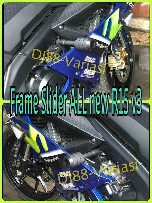GREAT Frame slider All new R15 v3 vva pelindung fairing body r15 new v3 aksesoris r15 new variasi all new r15 v3