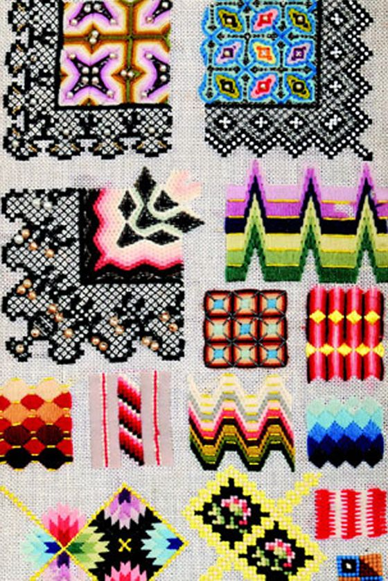 Bargello or needlepoint