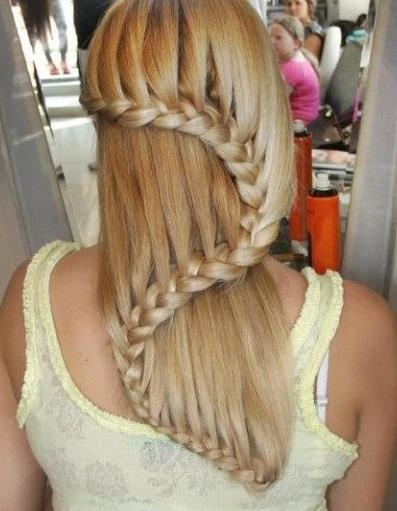 Way cool :)): Hair Ideas, Hairstyles, Fashion, Hair Styles, Awesome, Makeup, Waterfall Braids, Beauty