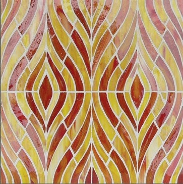 Hirsch Signature stained glass mosaic - modern - accessories and decor - tampa - American Tile and Stone/Backsplashtogo.com