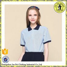 High quality fashion short sleeve women polo for school uniform  Best buy follow this link http://shopingayo.space