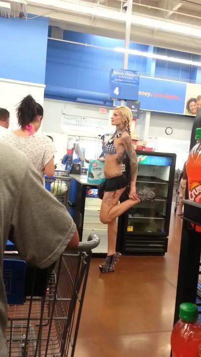 Bikinis And No Heel Shoes At Walmart Lmao Walmart