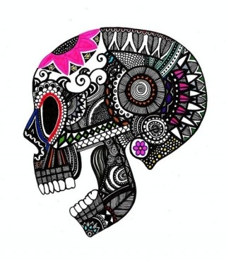 skullTattoo Ideas, Candies Skull, Skull, Sugar Skull Art, Drawing Something, Tattoo Pattern, Sugar Kull, A Tattoo, Design