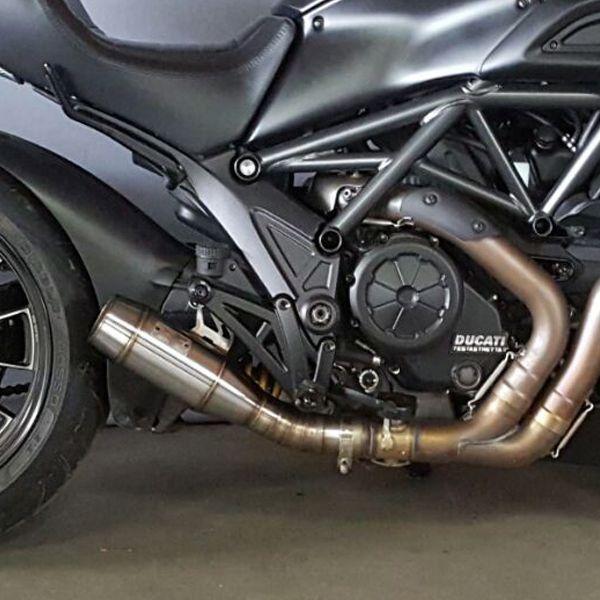 Escapamento Esportivo Ducati Diavel Firetong Flame