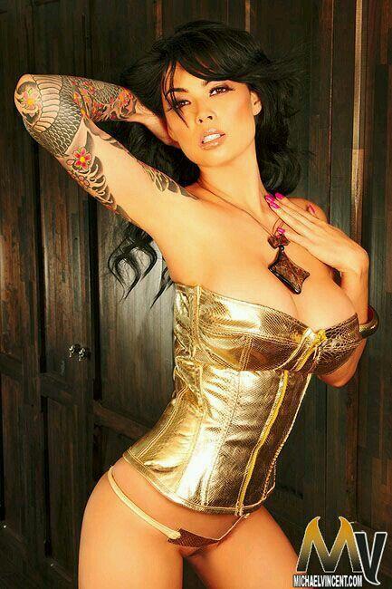 tera patrick naked tattoos