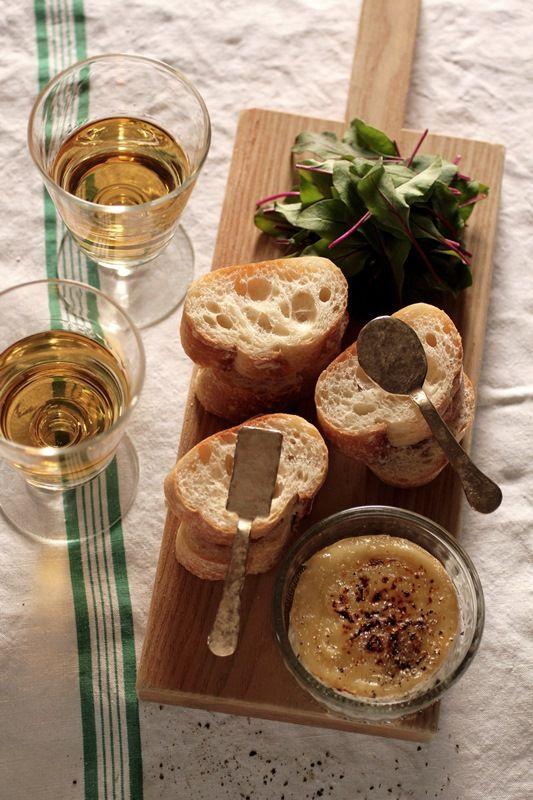 < Camembert Cheese Fondue > Brass Mini Pate Spreader - IRRE
