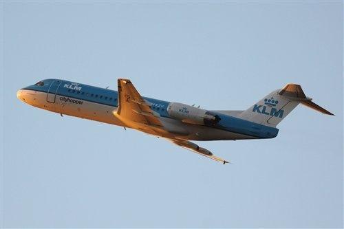 KLM Cityhopper Fokker 70, c/n 11543 PH-KZV