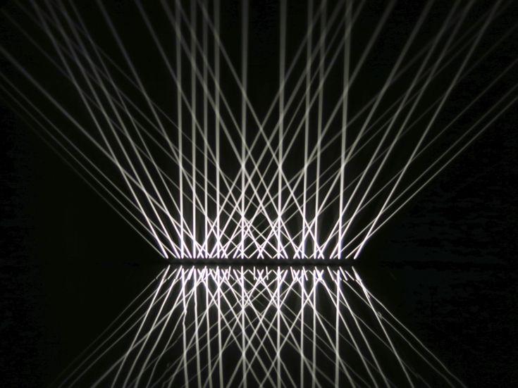 installation:  'Lumière Alternée' 1966/1993, Julio Le Parc.