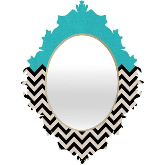 Paint an old mirror using the Chevron Craft Stencil from Cutting Edge Stencils! http://www.cuttingedgestencils.com/chevron-stencil-templates-stencils.html