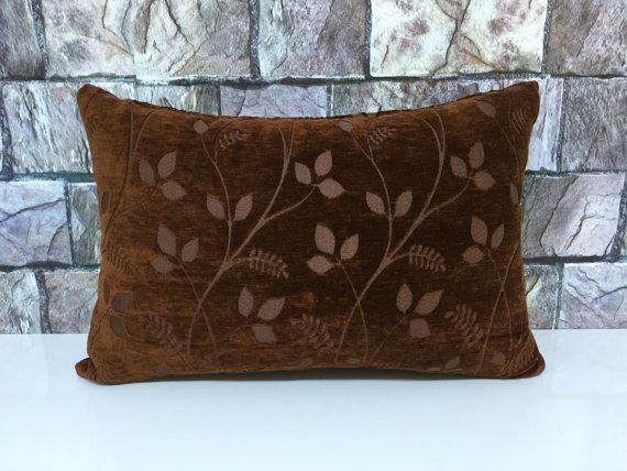 lumbar velvet pillow 16x24 inch 40x60 cm soft high by laviaart