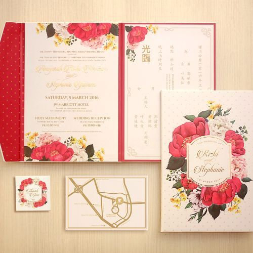 Foto undangan pernikahan oleh Memento Idea