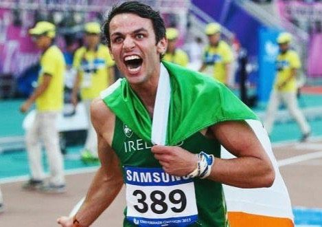 What a performance today from @tombarr247 in #Rio. The Waterford man ran a season's best of 48.93 to qualify automatically for the 400m hurdles semi-finals tomorrow night.  #UpTheDeise #Waterford #ThomasBarr #FerrybankAC #rio2016 #TeamIreland #IrishAthletics #400mhurdles