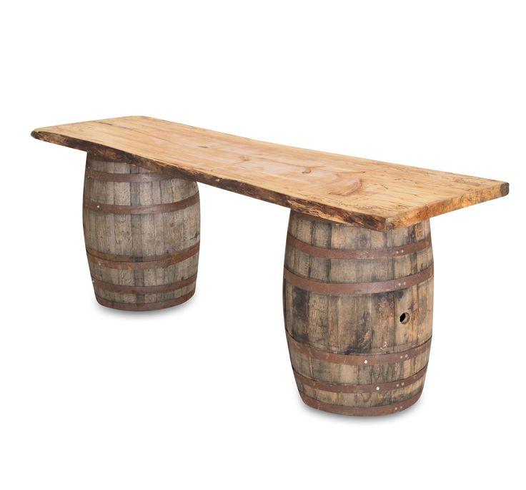 Whisky barrel bar!