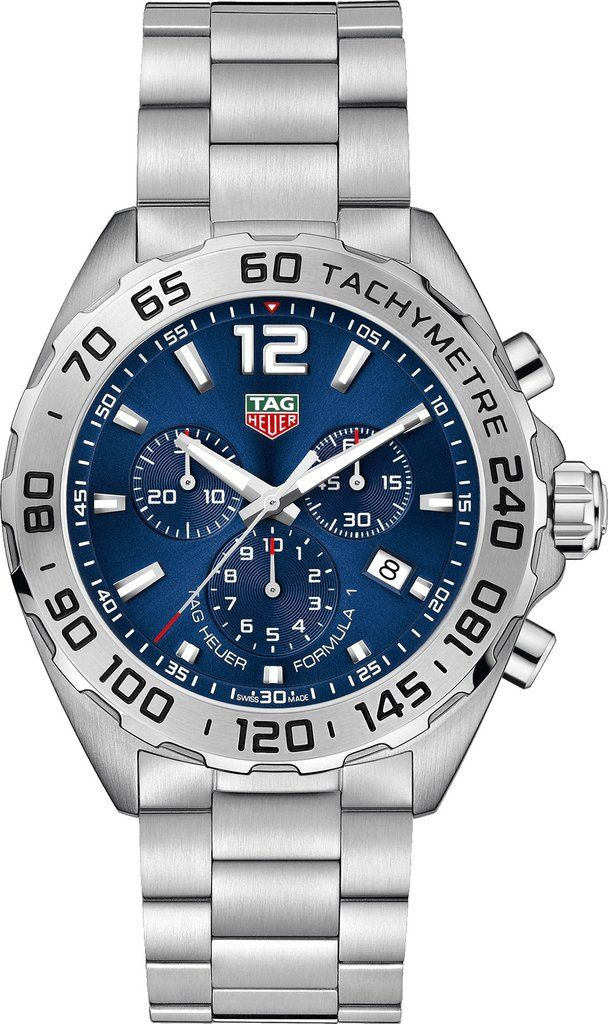 TAG Heuer Watch Formula 1 #add-content #basel-18 #bezel-fixed #bracelet-strap-steel #brand-tag-heuer #case-depth-mm #case-material-steel #case-width-43mm #chronograph-yes #date-yes #delivery-timescale-call-us #dial-colour-blue #discount-code-allow #gender-mens #luxury #movement-quartz-battery #new-product-yes #official-stockist-for-tag-heuer-watches #packaging-tag-heuer-watch-packaging #sihh-geneve-2018 #style-dress #subcat-formula-1 #supplier-model-no-caz101k-ba0842
