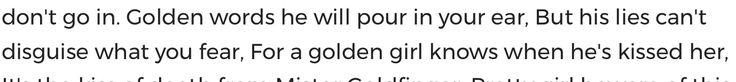 Golden words....fear Goldfinger, (007, bond james bond)