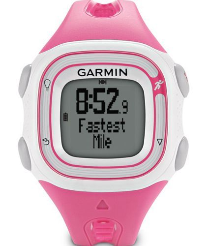 Garmin Forerunner 10 Women's GPS Watch (Pink)