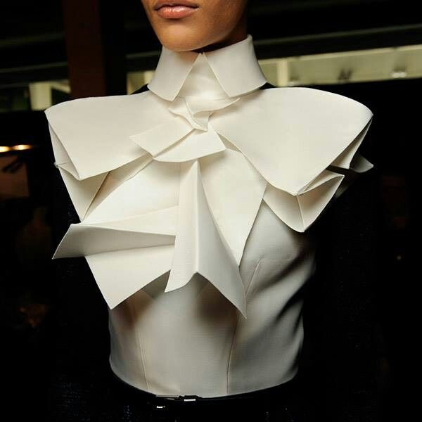 A piece from Stephane Rolland Paris Fashion Show '13