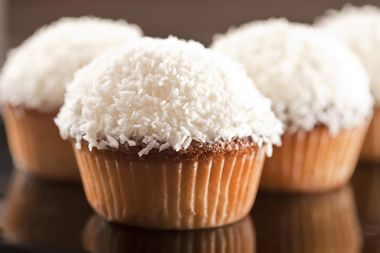 Gingerbread and Coconut cupcakes. Instead of loading them with sugary and artificial ingredients, here is a recipe that is healthy and nourishing, but still packed with flavour and looks great.