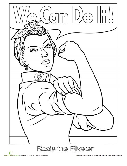 21 printable coloring sheets that celebrate girl power