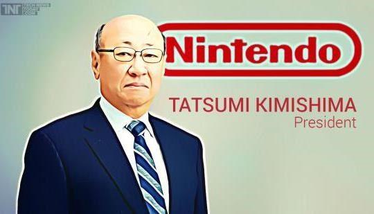 Tatsumi Kimishima el nuevo presidente de Nintendo