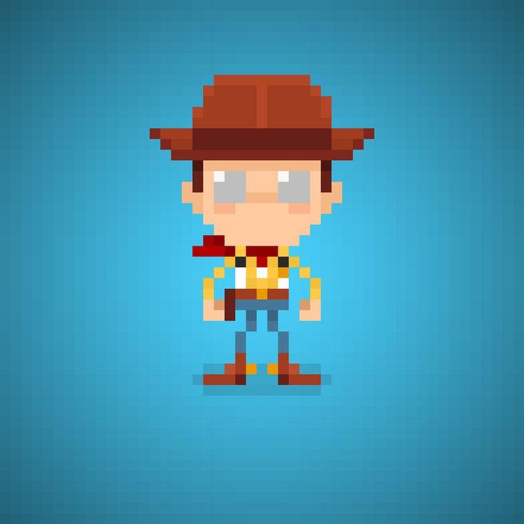 Sheriff Woody Pride (Tom Hanks) from Toy Story Series #woody #sheriffwoody #sheriff #fabriziofrizzi #tomhanks #toystory #disney #pixar #disneypixar #andy #cartoons #cartonianimati #sceriffo #cowboy #cowboys #pixel #pixelart #16bit #instacartoon #instatoys #toys #toystory #toy #giocattoli