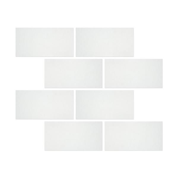 6 X 12 Thos White Marble Honed Subway Brick Field Tile 215 Best Kitchen Backsplash Images On Pinterest