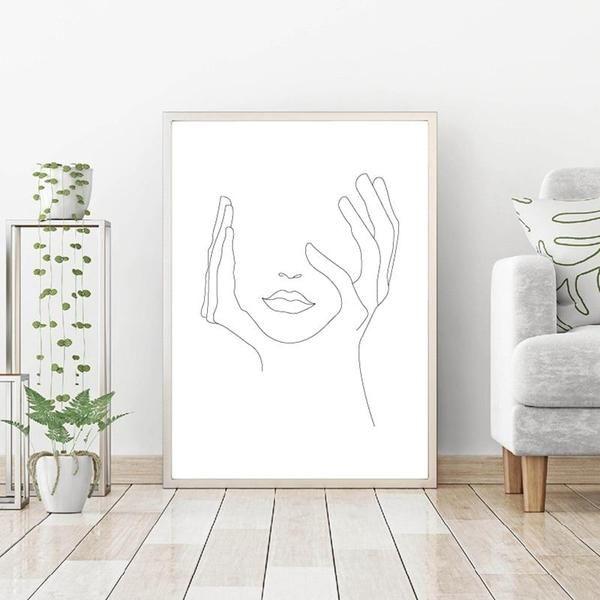 Prints hand photo prints online hand house decoration