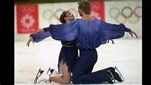 1984 Winter Olympics - Jayne Torvill and Christopher Dean of the United Kingdom earned across-the-board perfect scores for artistic impression in the free dance ice dancing competition, a feat that was never matched.