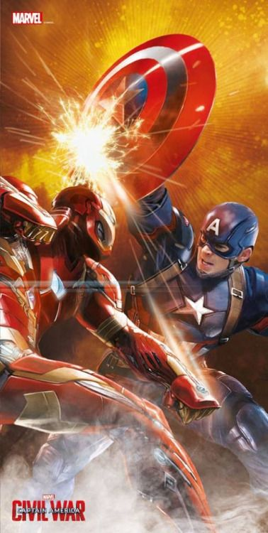 'Captain America Civil War' Promo Art