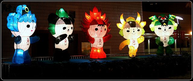 Fuwa - China's Super-Powered Olympic Mascots by Tama Leaver, via Flickr: Superpower Olympics, China Olympics, Olympics Mascot, China Superpower, National Treasure, Mascot Costumes, Pandas Mascot, Super Pow Olympics, China Super Pow
