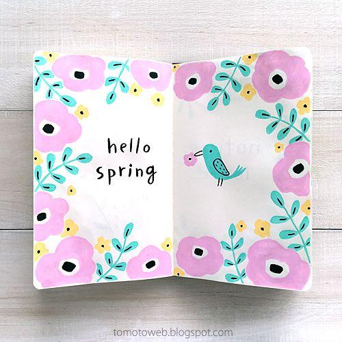 tomoto: Hello Spring