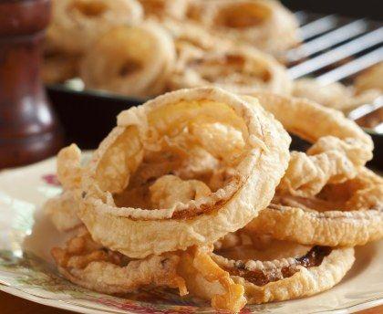 oignons frits recette l gumes beignets recipes et. Black Bedroom Furniture Sets. Home Design Ideas