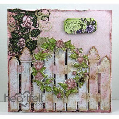 Pink Rose Birthday Gate